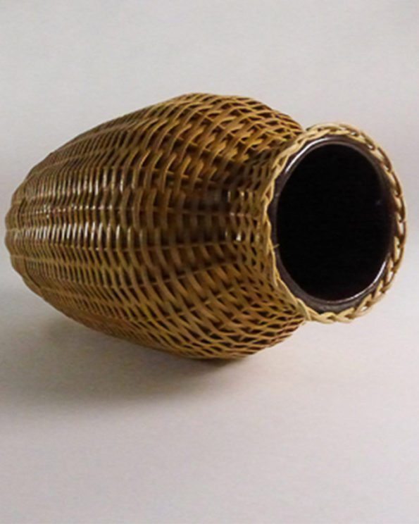 vase-umflochten-innen-keramik-vintage
