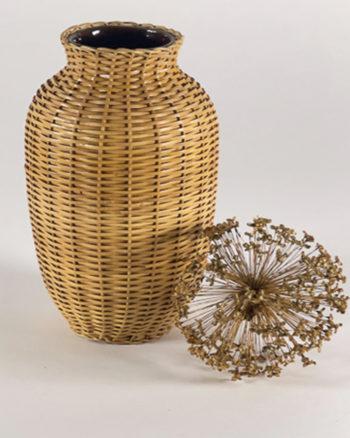 vase-weide-umflochten-natur-vintage
